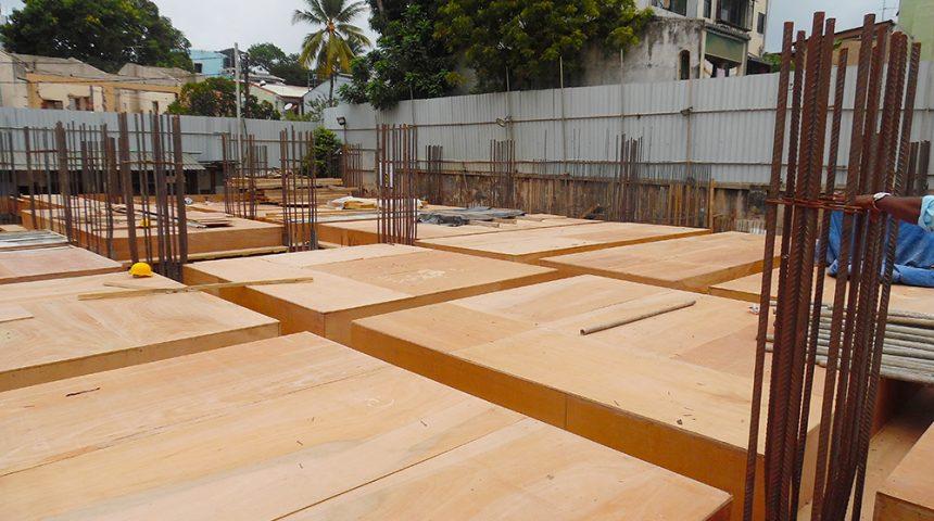 Ground Floor Foam Work