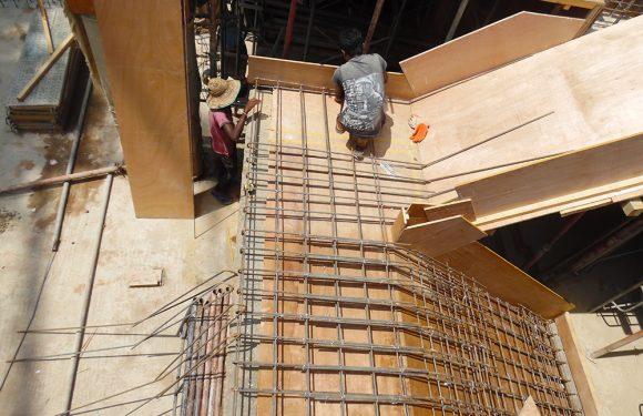 1st Floor Concreting