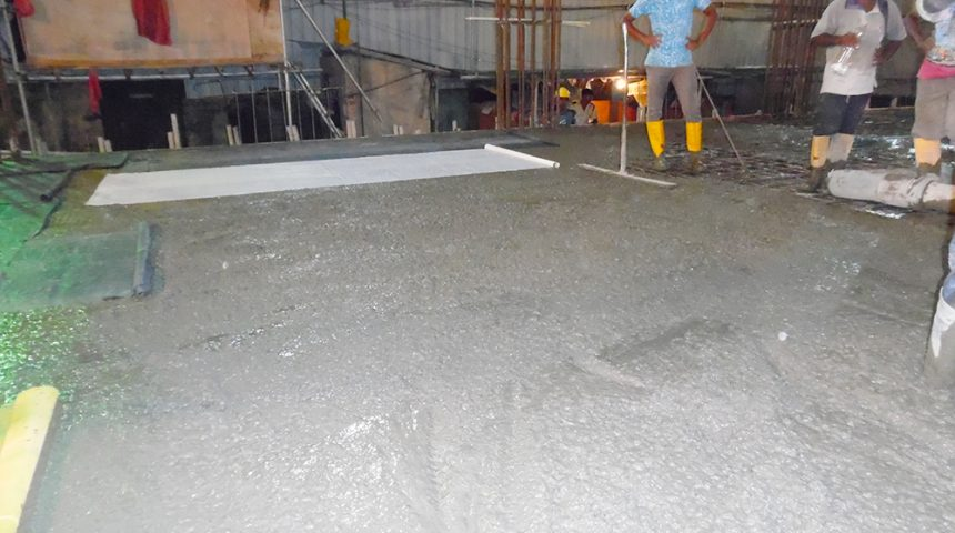 Ground Floor Concreting