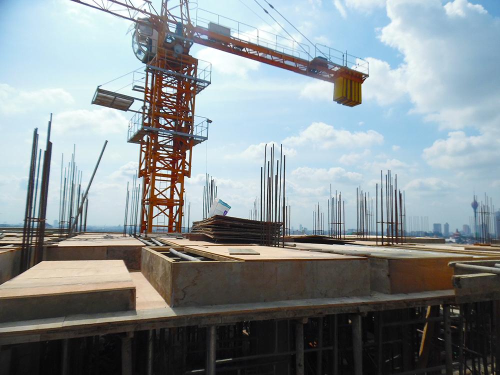 12th Floor Concreting