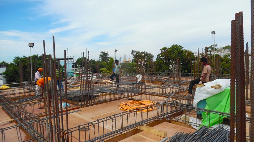 3rd Floor Concreting