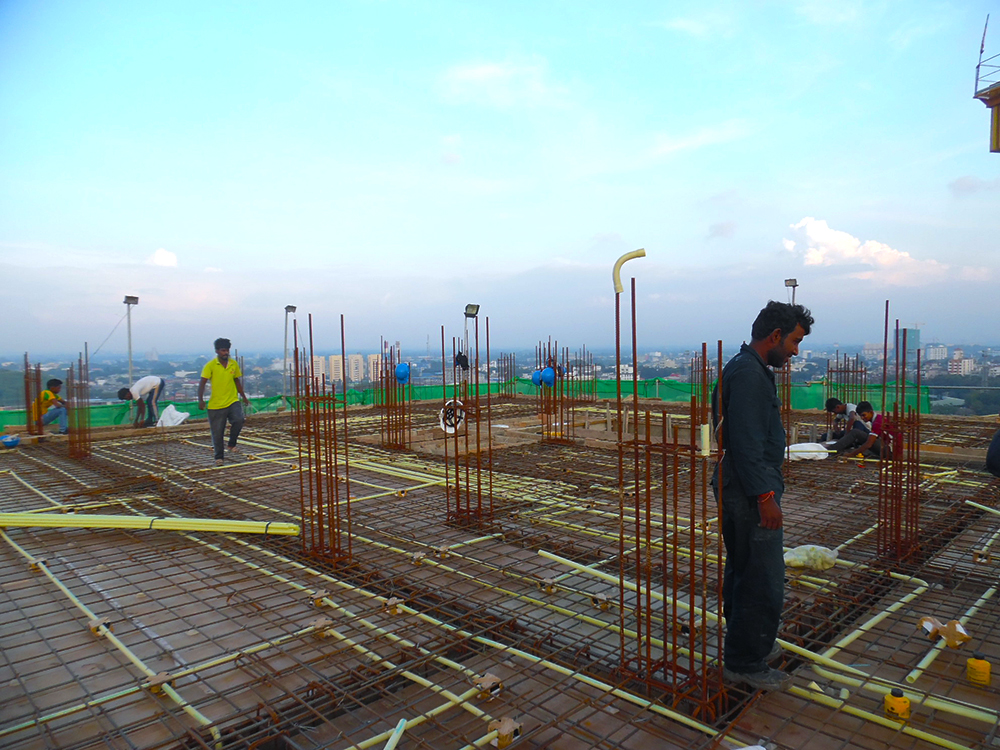 11th Floor Concreting