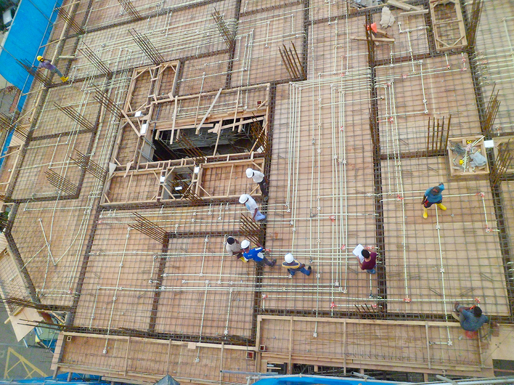 3rd Floor Concreting