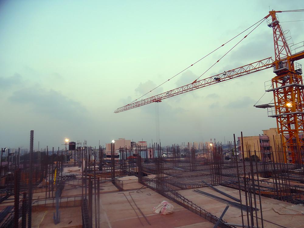 4th Floor Concreting
