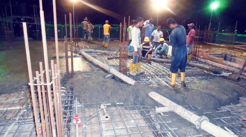 7th & 8th Floor Concreting