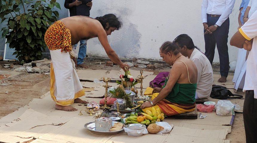 Stone Laying Ceremony