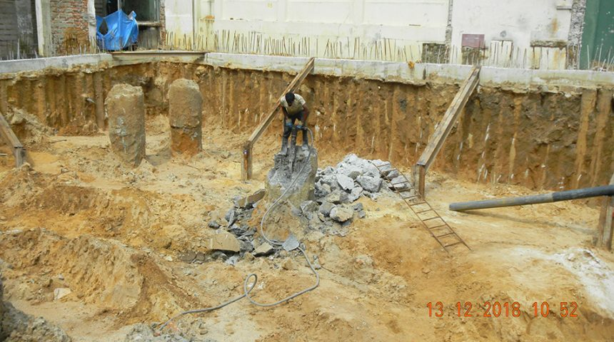 Pile Hacking & Excavation