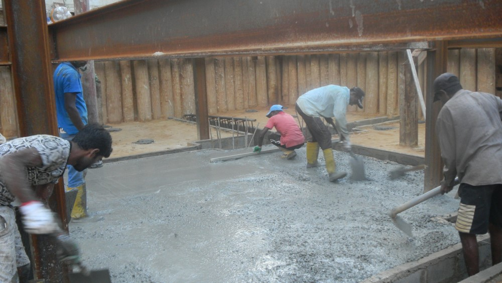 Screed Concrete