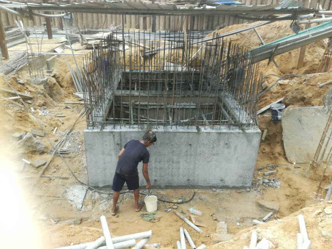 Foundation – Basement level