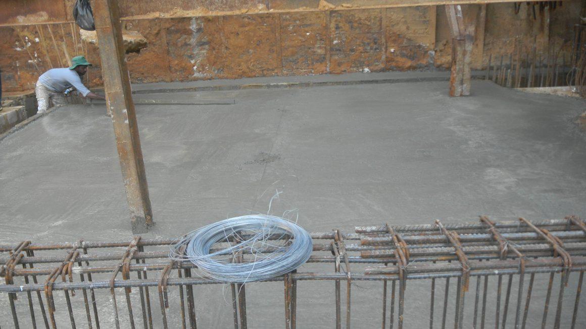 Raft Foundation Concreting