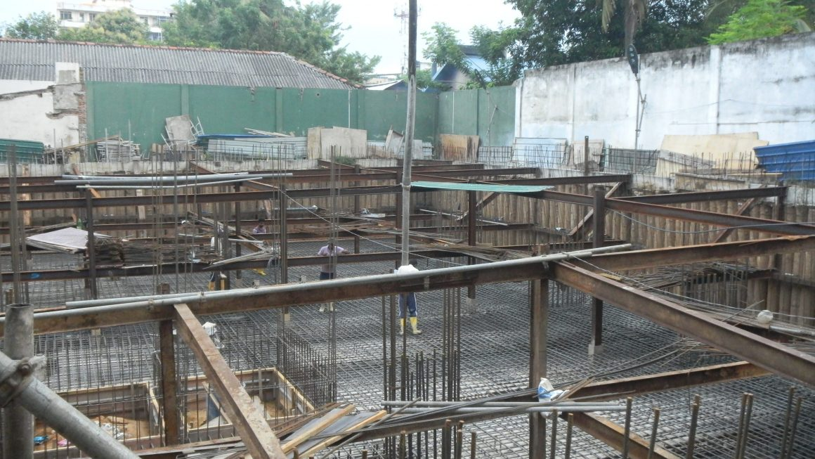Raft Foundation Concreting