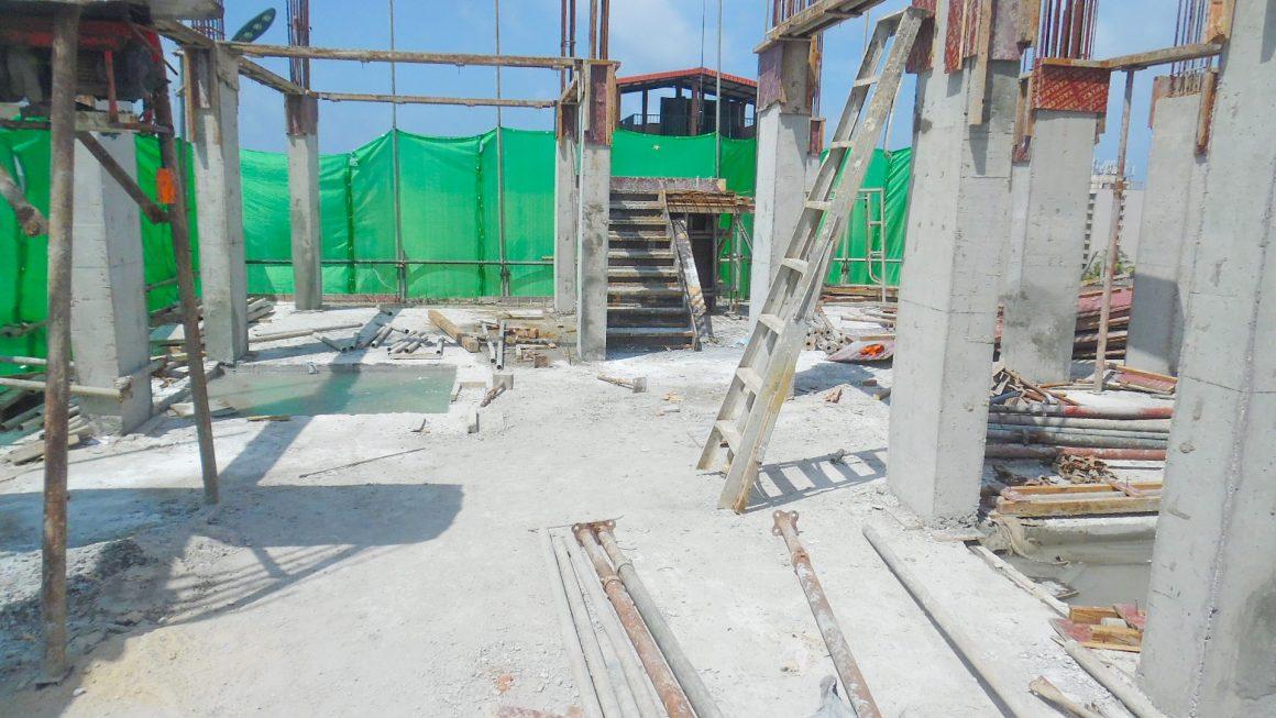 6th Floor Slab