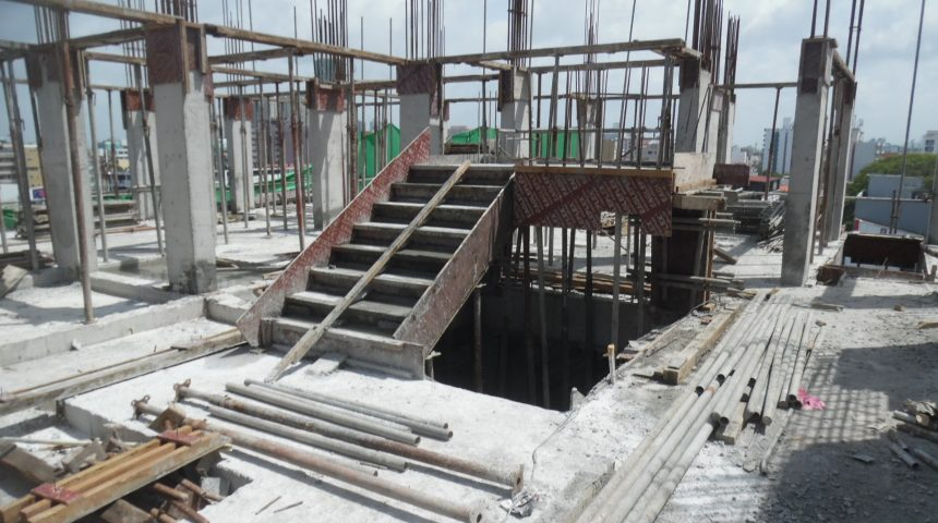 6th Floor Slab