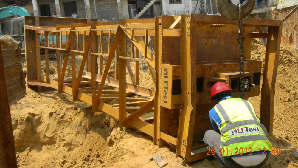 Pile Testing and Excavation